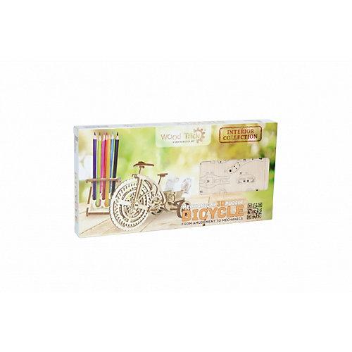"Сборная модель Wood Trick ""Велосипед-визитница"" от Wood Trick"