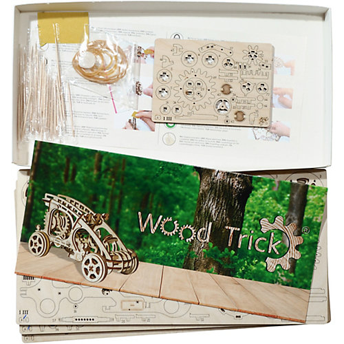 "Сборная модель Wood Trick ""Багги"" от Wood Trick"