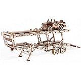 """Сбоная модель  Wood Trick """"Прицеп Автовоз"""""""