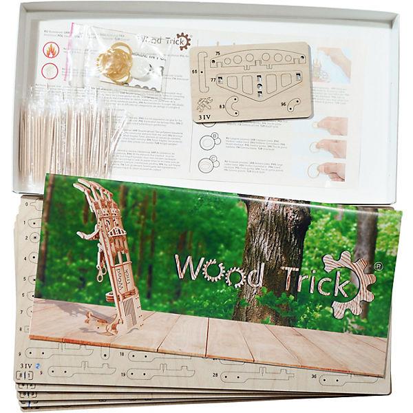 """Сборная модель Wood Trick """"Экзоскелет Руки"""""""