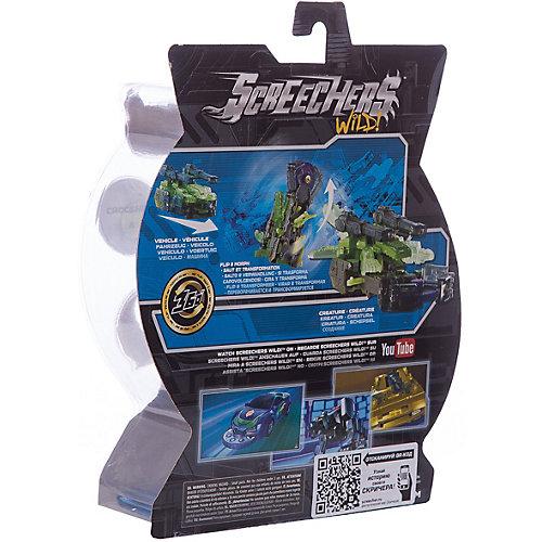 """Машинка-трансформер Дикие Скричеры """"Крокшок л2"""" от Screechers Wild"""