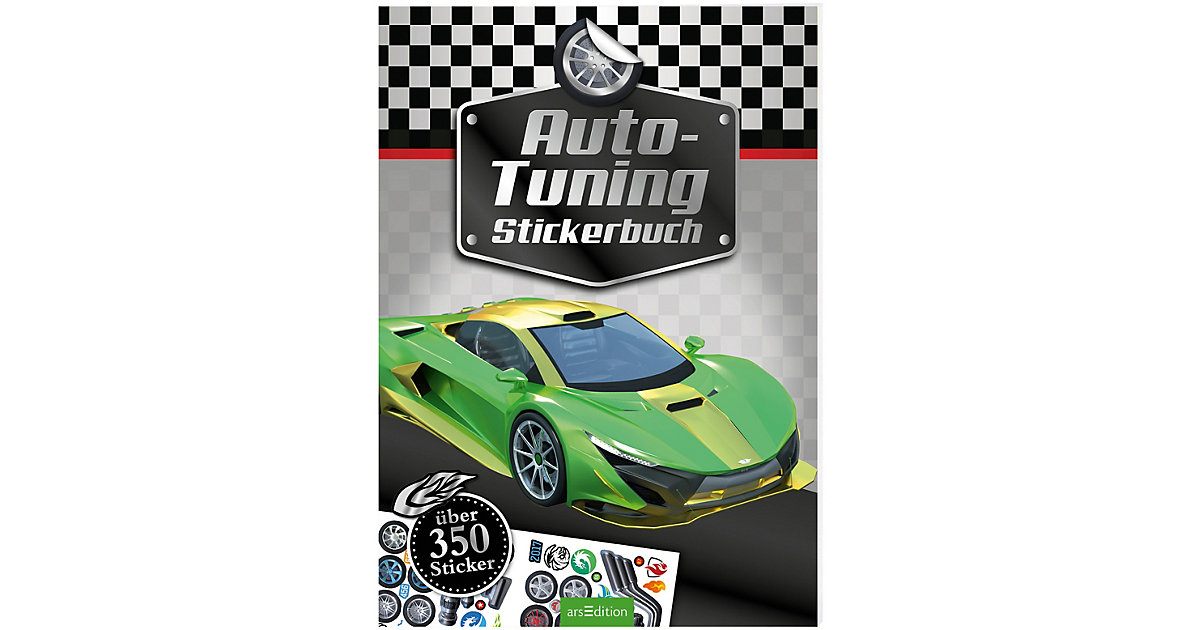 Auto-Tuning Stickerbuch