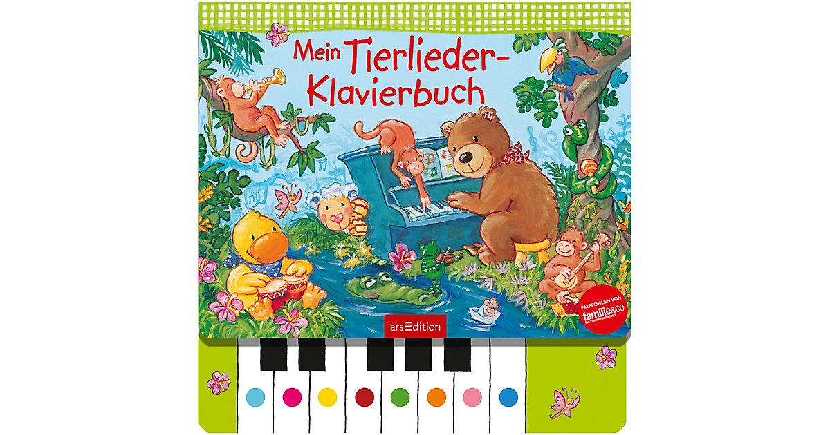 Mein Tierlieder-Klavierbuch, mit Klaviertastatur