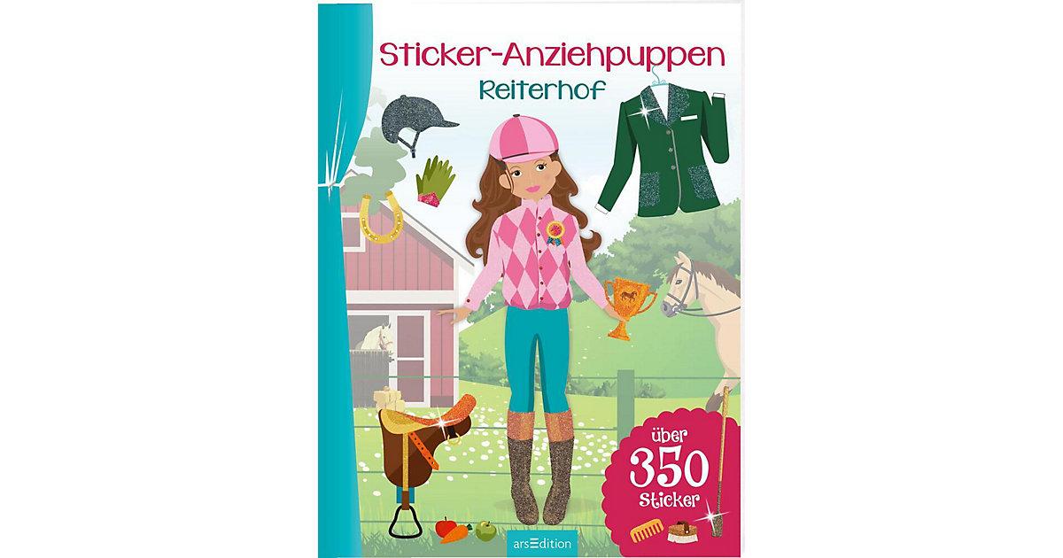 Sticker-Anziehpuppen: Reiterhof
