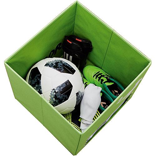 Коробка с крышкой для хранения Store it Football Tooor - светло-зеленый от STORE IT!
