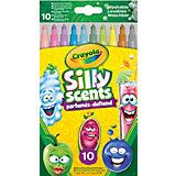 Ароматизированные фломастеры Crayola с тонким пером, 10 штук