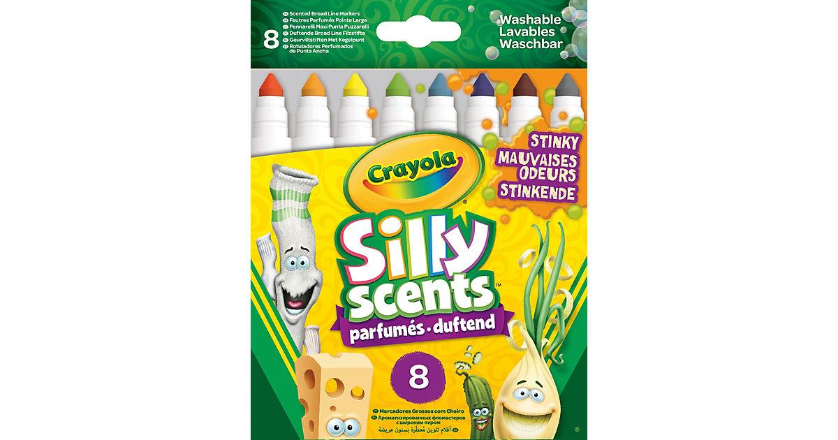 8 Silly Scents Stinkende Filzstifte