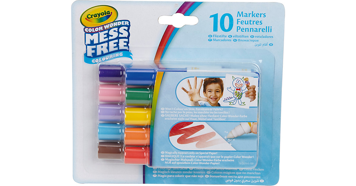 10 Color Wonder Filzstifte