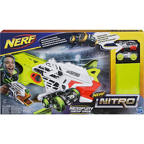 Бластер Nerf Нитро Аэрофьюри от Hasbro