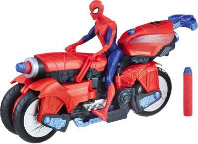 Фигурка Marvel Spider-man Человек-паук с транспортом
