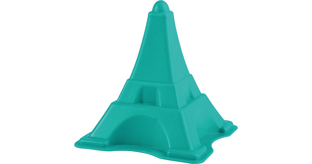Eiffelturm Sandförmchen türkis
