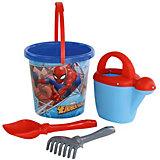 """Набор игрушек для песочницы Полесье """"Marvel Человек-Паук"""" № 9, 4 предмета"""