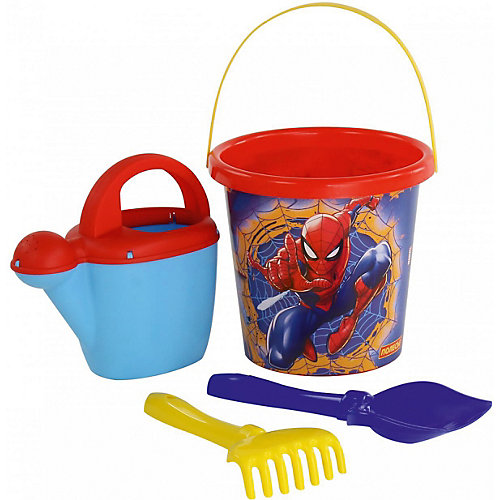 """Набор игрушек для песочницы Полесье """"Marvel Человек-Паук"""" № 9, 4 предмета от Полесье"""