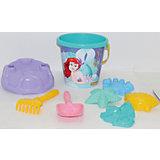 """Набор игрушек для песочницы Полесье """"Disney Русалочка"""" № 6, 8 предметов"""