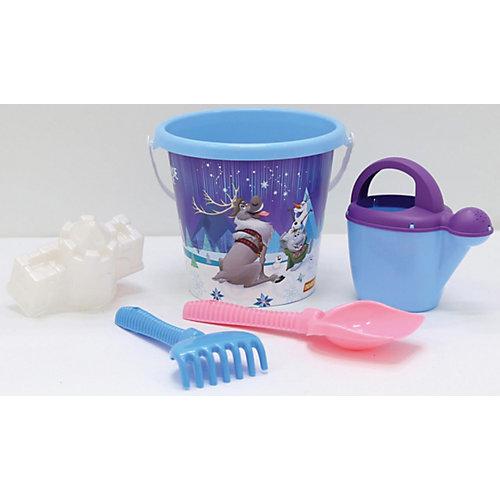 """Набор игрушек для песочницы Полесье """"Холодное сердце» № 13, 5 предметов от Полесье"""