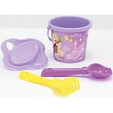 """Набор игрушек для песочницы Полесье """"Принцессы Disney» № 2, 4 предмета"""