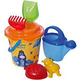 """Набор игрушек для песочницы Полесье """"Disney Винни и его друзья» № 12, 7 предметов"""