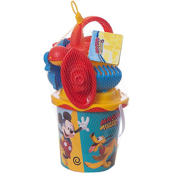 """Набор игрушек для песочницы Полесье """"Disney Микки и Весёлые гонки» № 12, 7 предметов"""