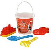 """Набор игрушек для песочницы Полесье """"Disney Pixar Тачки» № 18, 5 предметов"""