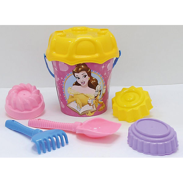 """Набор игрушек для песочницы Полесье """"Принцессы Disney» № 14, 7 предметов"""