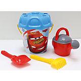 """Набор игрушек для песочницы Полесье """"Disney Pixar Тачки» № 27, 5 предметов"""