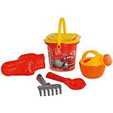 """Набор игрушек для песочницы Полесье """"Disney Pixar Тачки» № 4, 6 предметов"""