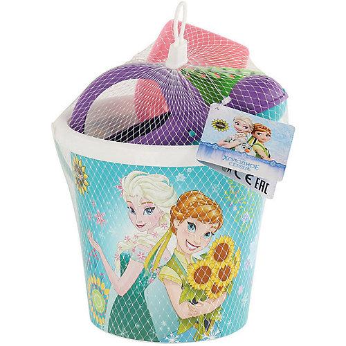 """Набор игрушек для песочницы Полесье """"Холодное сердце» № 9, 4 предмета от Полесье"""