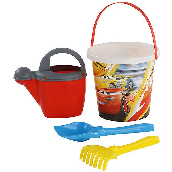 """Набор игрушек для песочницы Полесье """"Disney Pixar Тачки» № 17, 4 предмета"""