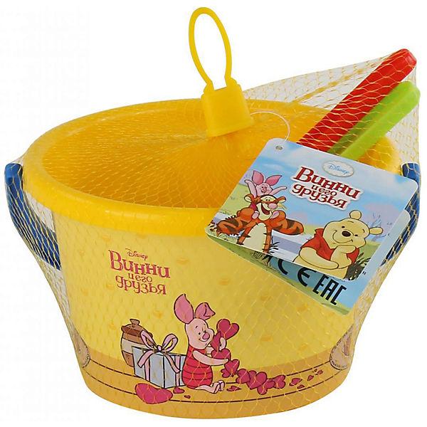 """Набор игрушек для песочницы Полесье """"Disney Винни и его друзья» № 5, 3 предмета"""