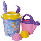 """Набор игрушек для песочницы Полесье """"Принцессы Disney» № 12, 7 предметов"""
