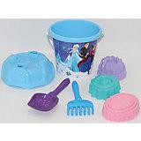 """Набор игрушек для песочницы Полесье """"Холодное сердце» № 14, 7 предметов"""