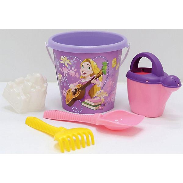 """Набор игрушек для песочницы Полесье """"Принцессы Disney» № 13, 5 предметов"""
