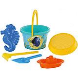 """Набор игрушек для песочницы Полесье """"Disney Pixar В поисках Немо» № 7, 6 предметов"""
