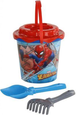 """Набор игрушек для песочницы Полесье """"Marvel Человек-Паук"""" № 11, 4 предмета"""