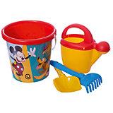 """Набор игрушек для песочницы Полесье """"Disney Микки и Весёлые гонки» № 9, 4 предмета"""