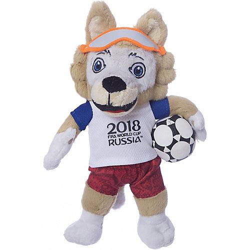 Мягкая игрушка FIFA-2018 1Toy Волк Забивака, 21 см от 1Toy