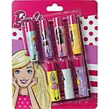 """Детская декоративная косметика Markwins """"Barbie"""", помады для губ"""
