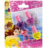 """Детская декоративная косметика Markwins """"Disney Princess"""" Белль, для губ и ногтей"""