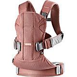 Рюкзак-переноска BabyBjorn ONE Mesh new version, тёмно-розовый