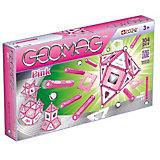"""Магнитный конструктор Geomag  """"Pink """", 104 детали"""