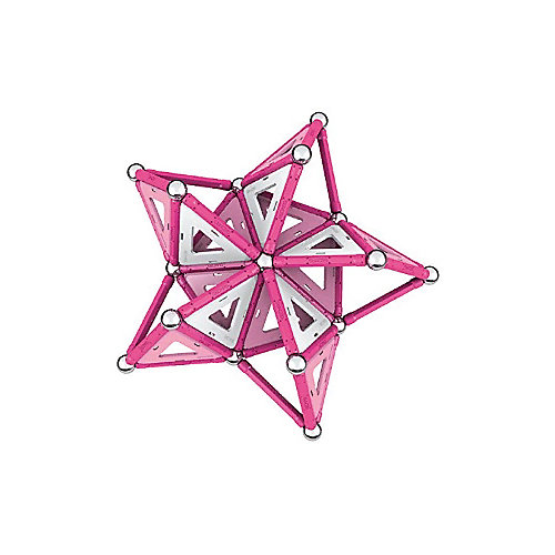 "Магнитный конструктор Geomag  ""Pink "", 104 детали от Geomag"