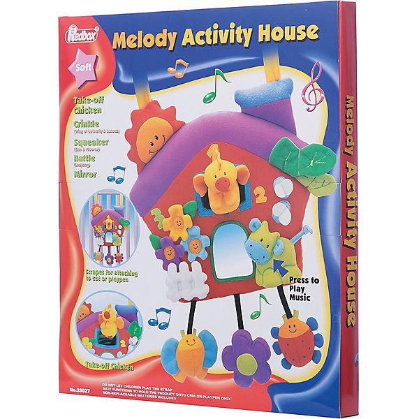 Музыкальный активный домик Red Box