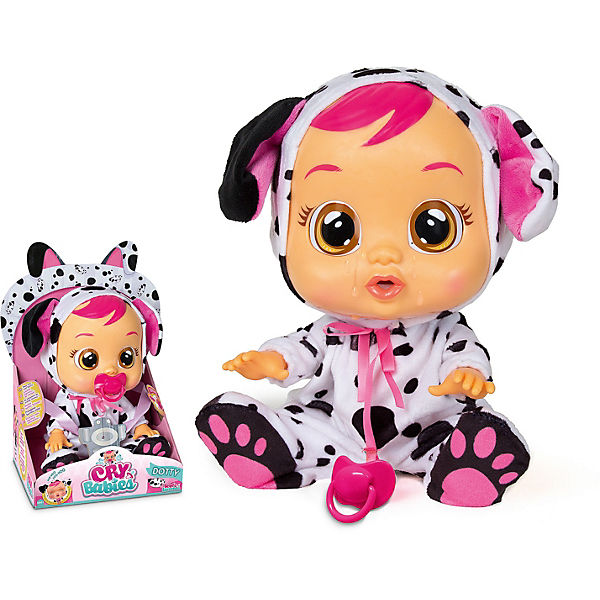 CryBabies DOTTY Funktionspuppe, IMC Toys