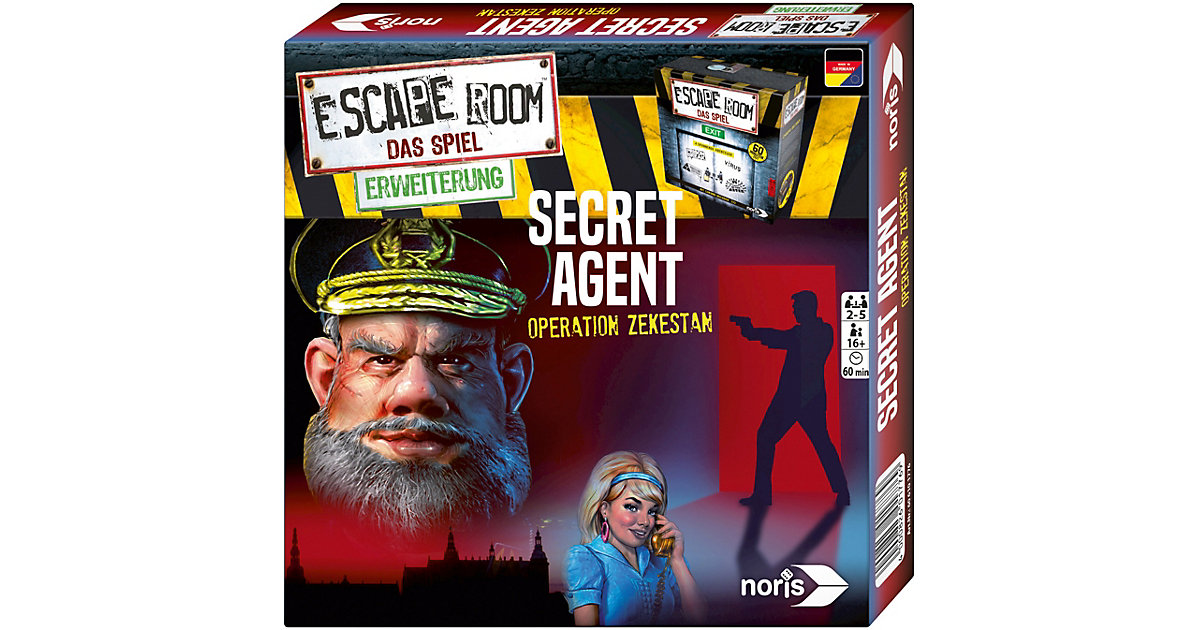 Escape Room Erweiterung - Secret Agent