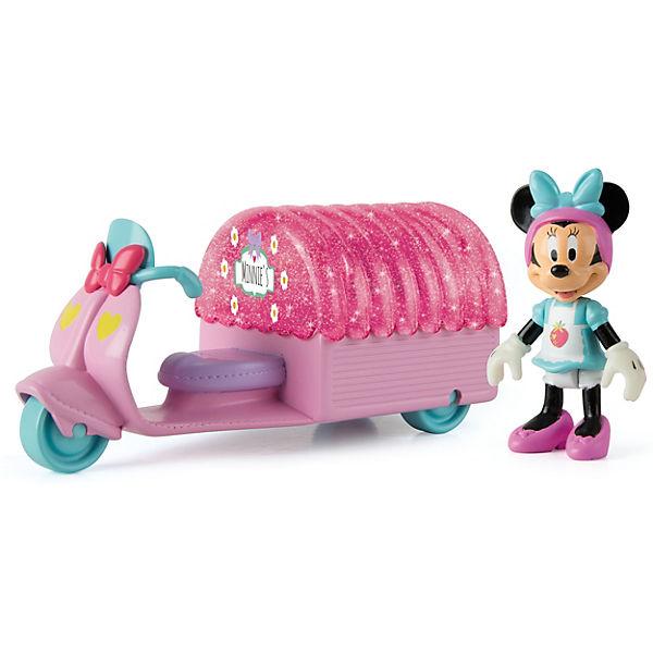 """Disney Игровой набор """"Минни: Кафе-мотороллер """" (14,5 см, фиг. 8 см, аксесс.)"""