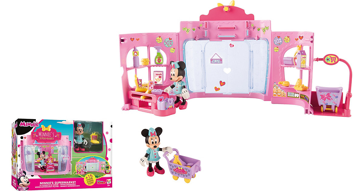 Minnie Let´s go shopping Supermarkt