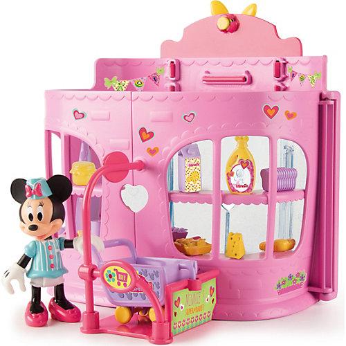 """Disney Игровой набор """"Минни: Супермаркет"""" (36 см, фиг. 8 см, аксесс.) от IMC Toys"""