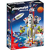 Конструктор Playmobil «Космос:Ракета-носитель с космодромом»