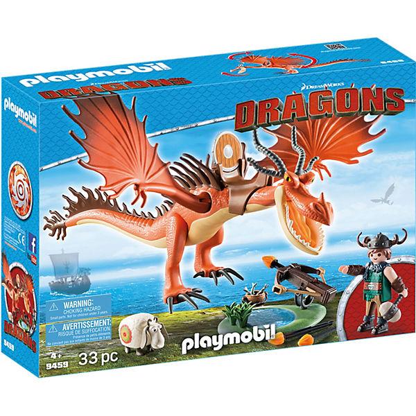 Playmobil 9459 Dragons Rotzbakke Und Hakenzahn Dragons Mytoys
