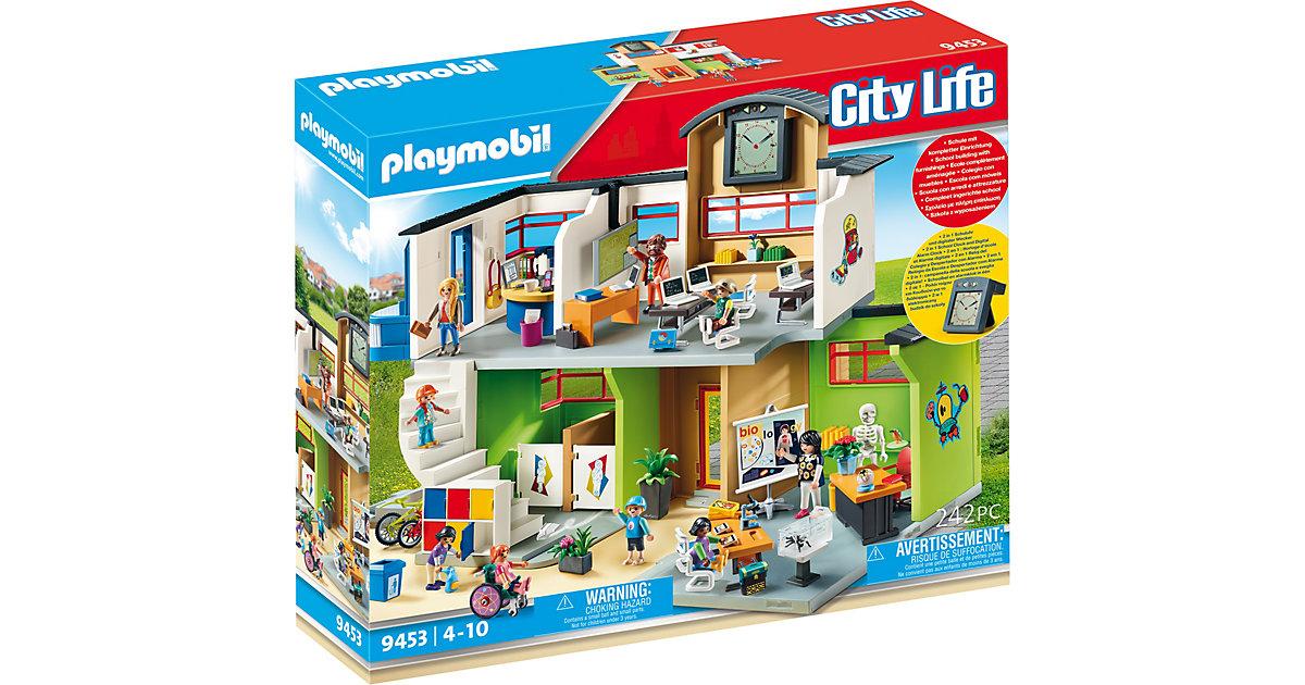 Playmobil · PLAYMOBIL - Große Schule mit Einrichtung - 9453